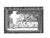 Ron Hinson Alice in Wonderland Ink Drawings