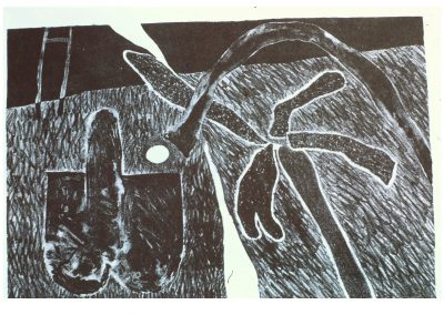Eden - Lithograph - 10.5 x 7 - Ron Hinson