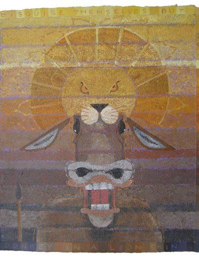 The Donkey & A Lion Skin